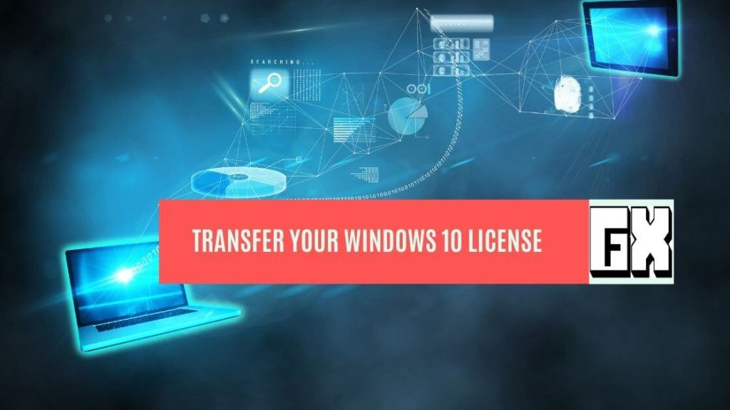 how to transfer your windows key to another computer