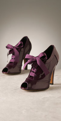 purple peep toe