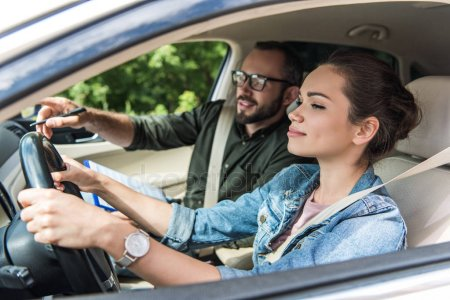 driver and driving instruction