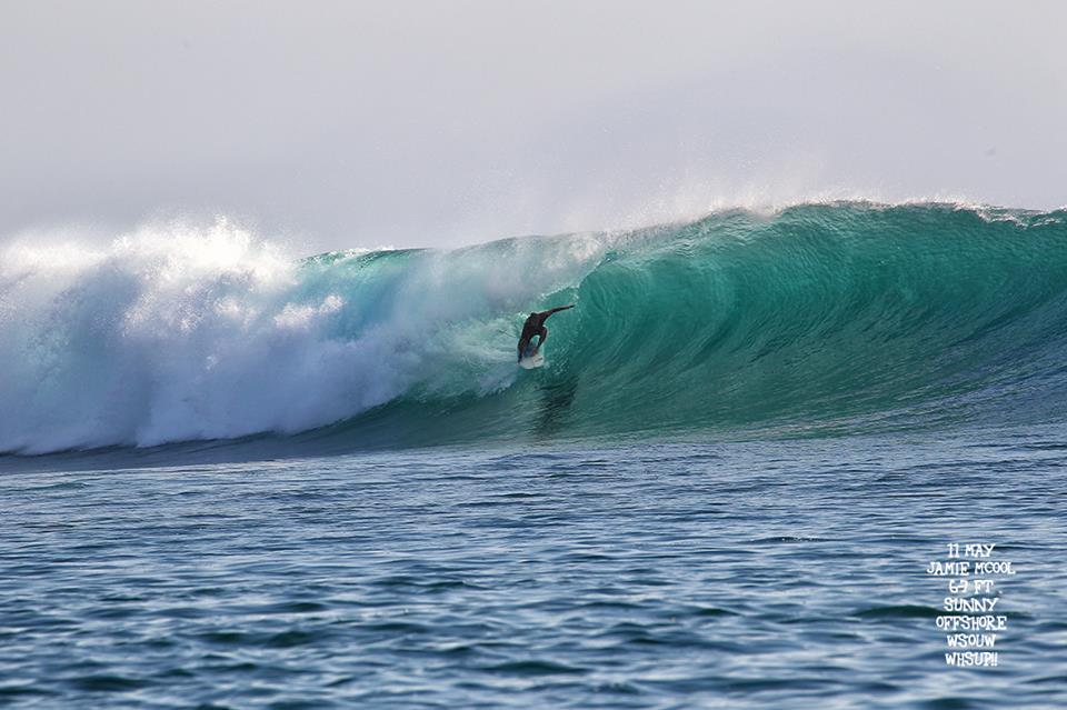 Surf Report May 9,10,11,12 2018