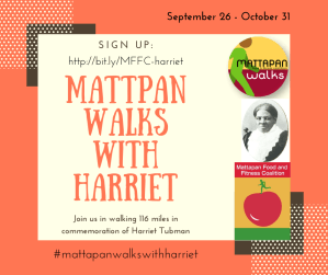 Join us in walking 116 miles in commemoration of Harriet Tubman