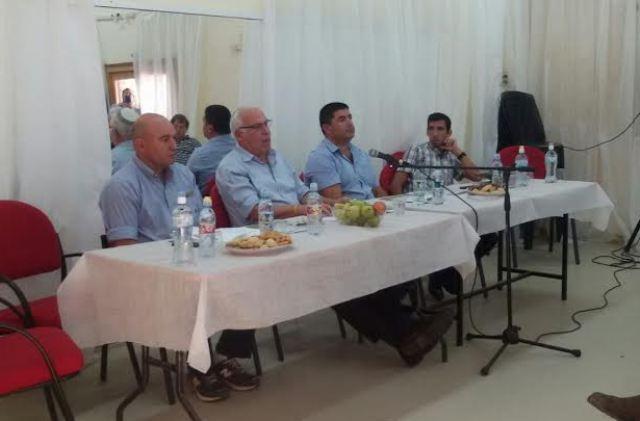שר החקלאות אורי אריאל יסוד המעלה