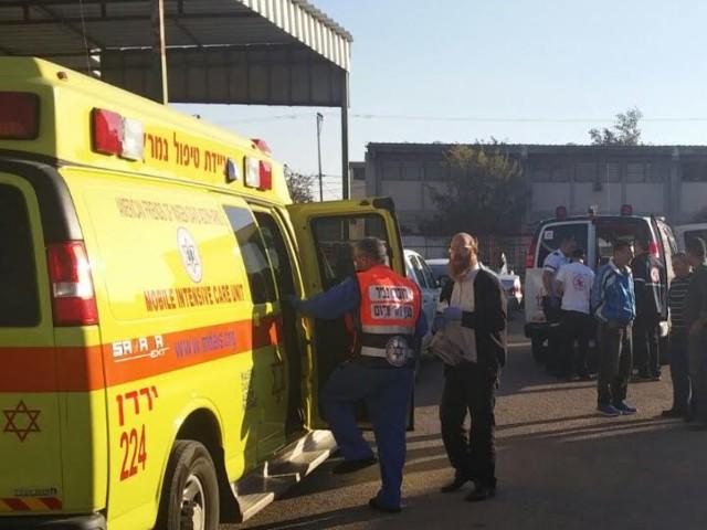 כוחות ההצלה בחצור הגלילית - צילום: חדשות 24.