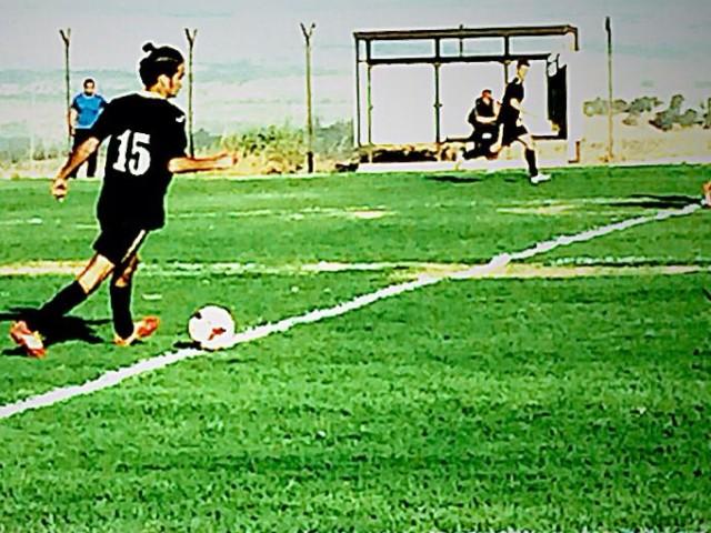 אלי לגזיאל מחצור כבש 9 שערים בשלושה משחקים.