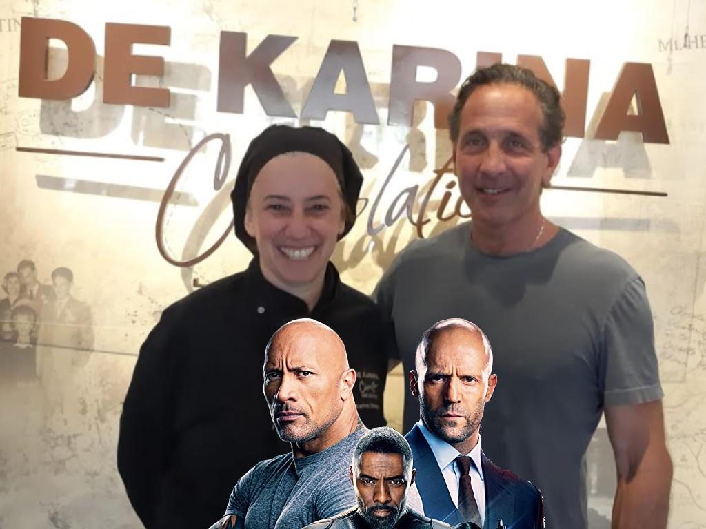 """מהיר ולא עצבני: המפיק ההוליבודי סטיבן צ'סמן סייר בגולן וביקר במרכז המבקרים """"דה קרינה"""""""