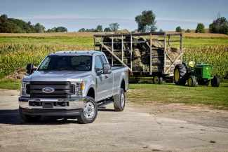 All-new 2017 Ford F-Series Super Duty is the toughest, smartest, most capable Super Duty yet. Completely redesigned from the ground up, it features all-new frames with 95 percent high-strength steel and all-new high-strength, military-grade, aluminum-alloy bodes that help save up to 350 pounds with additional weight savings reinvested everywhere it counts for improved capability efficiency and Super Duty's best-ever towing and payload ratings.