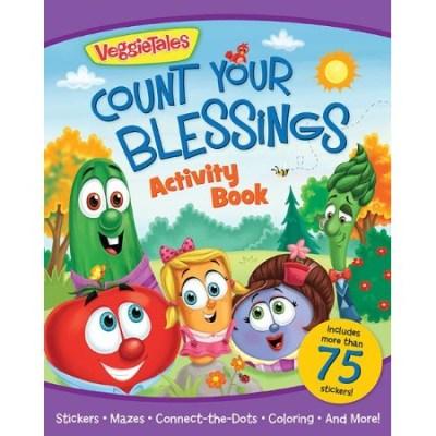 VeggieTales blessings activity stickers book