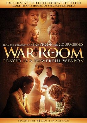 War Room, Exclusive Collector's Edition DVD   -