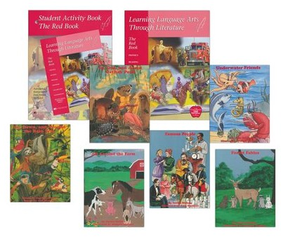 Learning Language Arts Through Literature Red Book Pack, Grade 2   -     By: Susan S. Simpson
