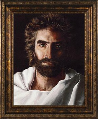 Prince of Peace, Framed Print  -     By: Akiane Kramarik<br />
