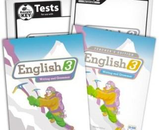 BJU English Grade 3 Homeschool Kit -