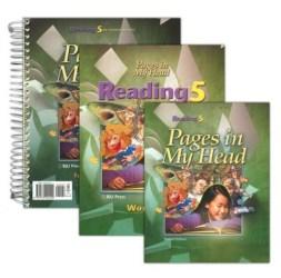BJU Reading Grade 5 Homeschool Kit -