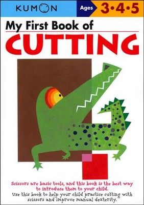 Kumon My First Book Of Cutting Ages 3 5