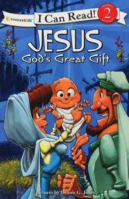 Jesus, God's Great Gift story book