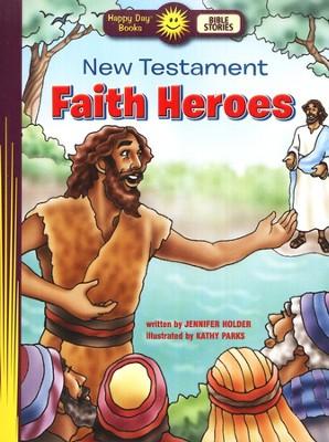 Book New Testament Faith Heroes kids