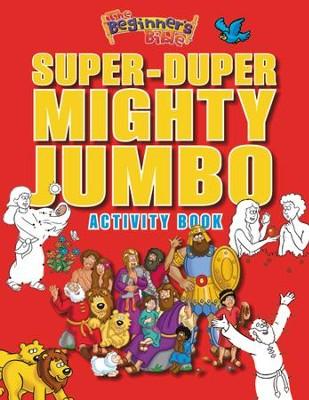 Beginner's Bible Mighty Jumbo Activity Book