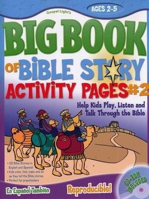 Big Bible Story Sunday school Activity Pages