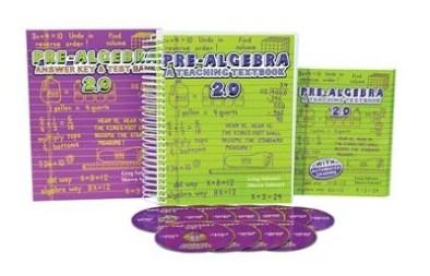 Teaching Textbooks Pre-Algebra Complete Kit, Version 2.0 - By: Greg Sabouri