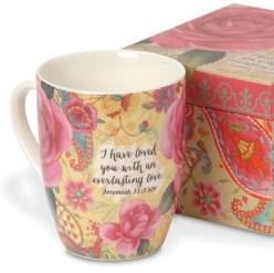 Everlasting Love Boxed Mug          -     By: Sandy Clough