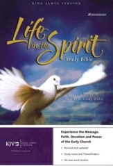KJV Life in the Spirit Study Bible, Bonded Leather, Black (Previously titled The Full Life Study Bible)