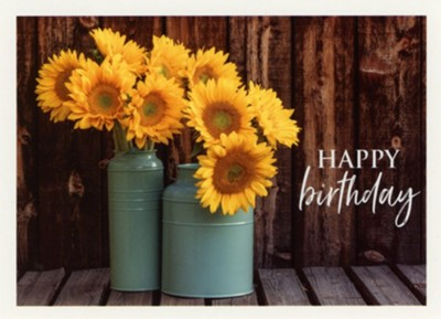 Flowers In A Vase Birthday Cards Box Of 12 Christianbook Com