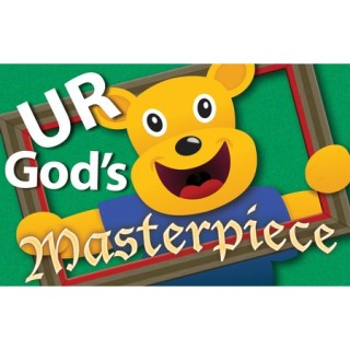 You are God's Masterpiece Post card height=