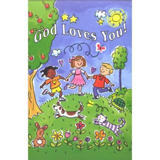 God Loves You! Postcards
