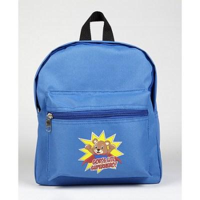 Gods little super hero kids backpack