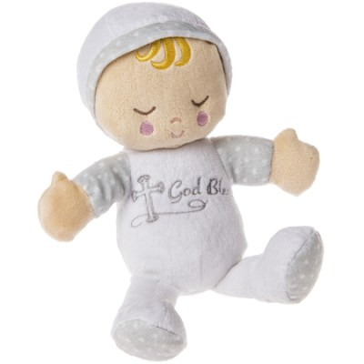 Christian plush baby doll