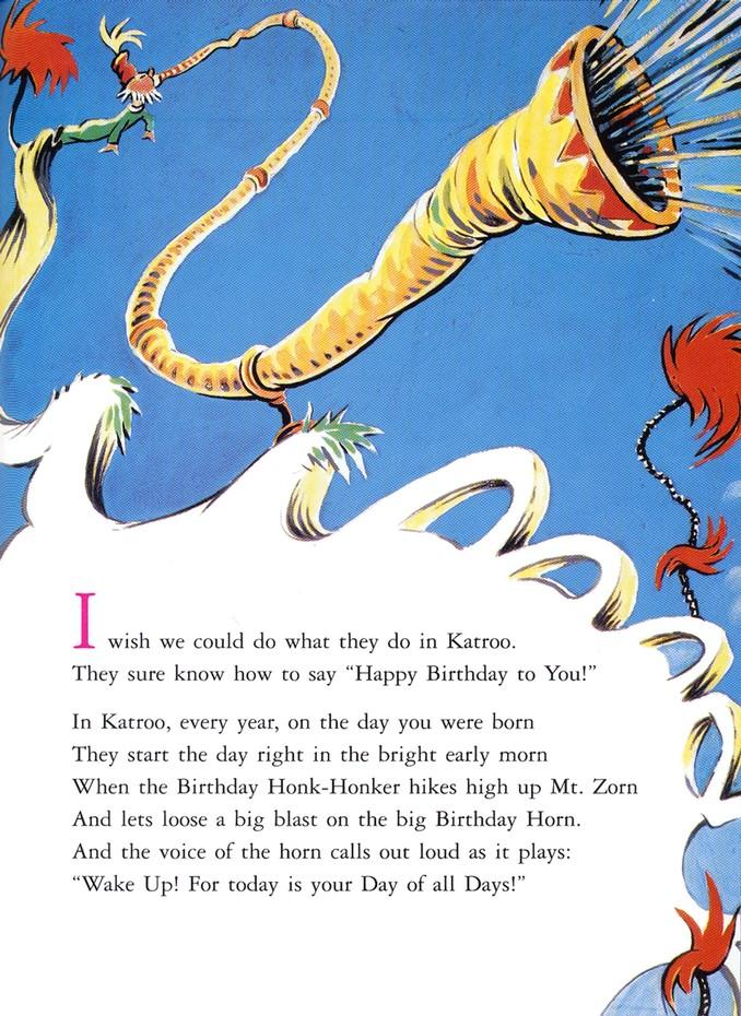 Happy Birthday To You Dr Seuss 9780394800769 Christianbook Com