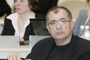 G.J.Furmanavičius per tarybos posėdį žaidė pokerį