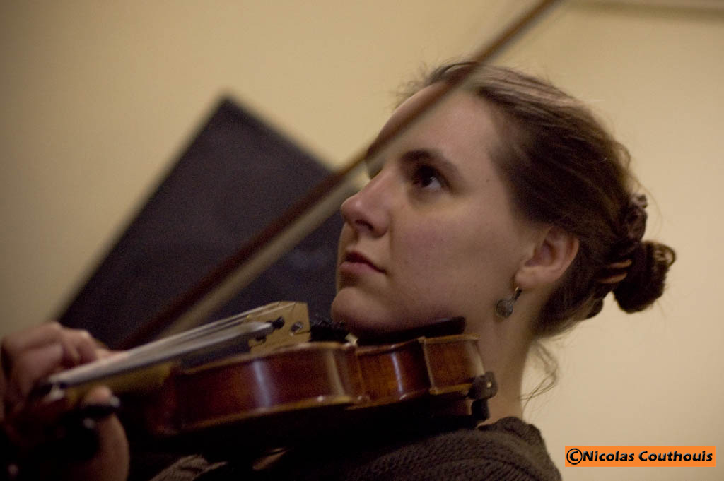 Anne et son violon