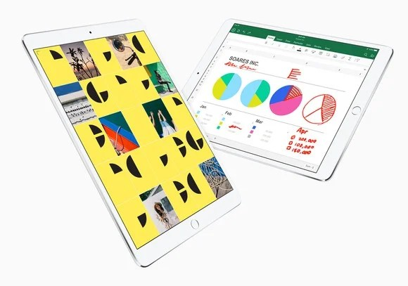 Apple's new iPads.