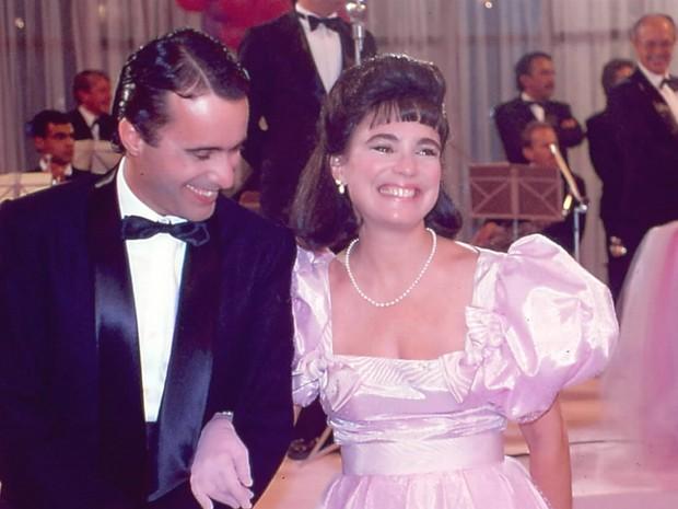 Edu (Tony Ramos) e Maria do Carmo (Regina Duarte) (Foto: CEDOC/ TV GLOBO)