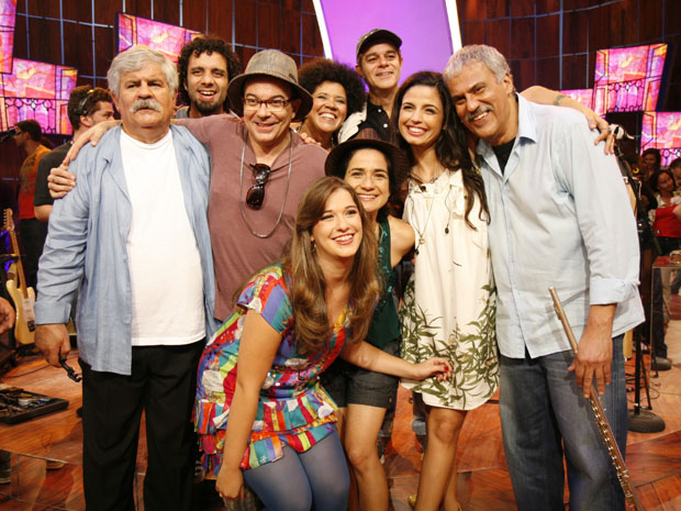 Participação de Margareth Menezes , Zeca Baleiro , Banda Caymmi e Moinho Baiano (Foto: Rafael França / TV Globo)