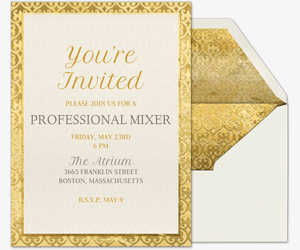 Free Corporate Professional Amp Office Event Invitations