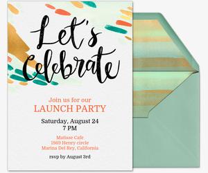 professional event invitations