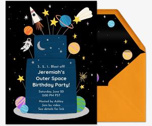 free birthday invitations send online