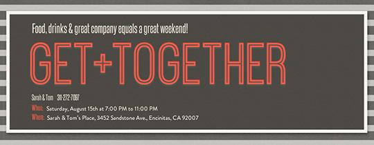 Free Class Family Reunion Invitations Evite