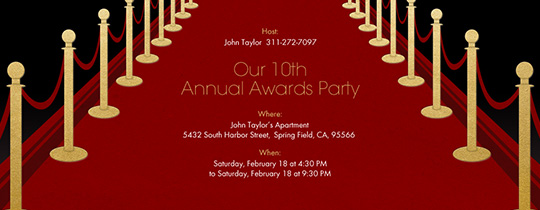 Free Theme Party Online Invitations Evite