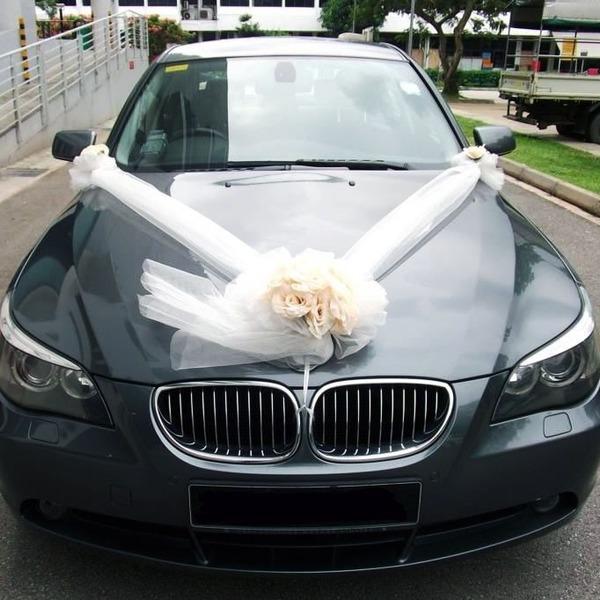 آلة الزفاف ديكور فذين
