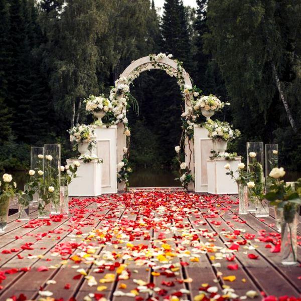 So verbringen Sie eine ideale Hochzeit in allen Regeln
