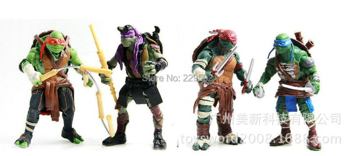 teenage mutant ninja turtles names and colors weapons personalities