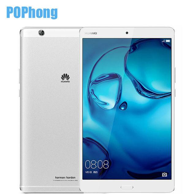 Original Huawei MediaPad M3 4GB RAM 64GB ROM 8.4 inch Android 6.0 Tablet PC 2K Screen Kirin 950 Octa Core Fingerprint
