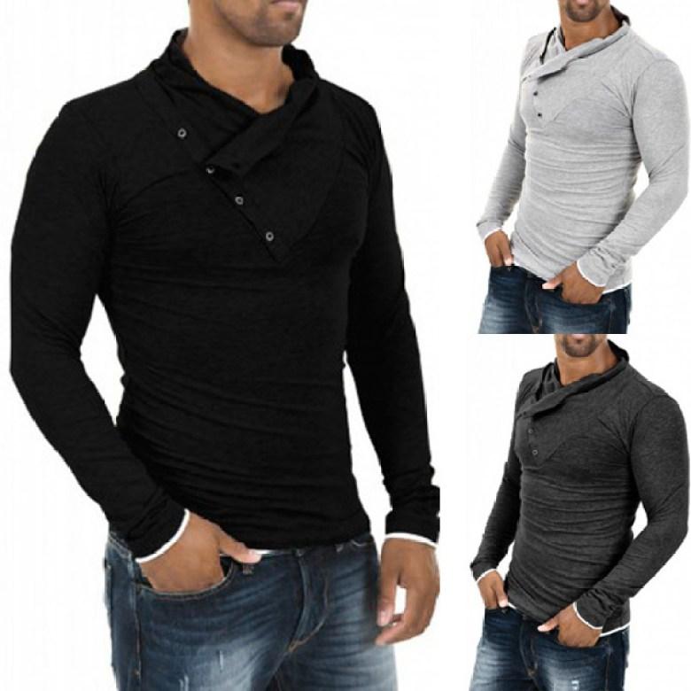 Resultado de imagem para camisas longas masculinas