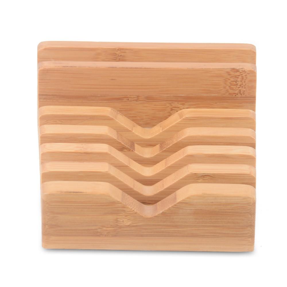 100% טבעי עץ במבוק מחזיק עבור iPad 6 ב 1 עץ במבוק לחייב בעל ערש סטנד לאייפון SE/6/6/7/7/בנוסף,סמסונג