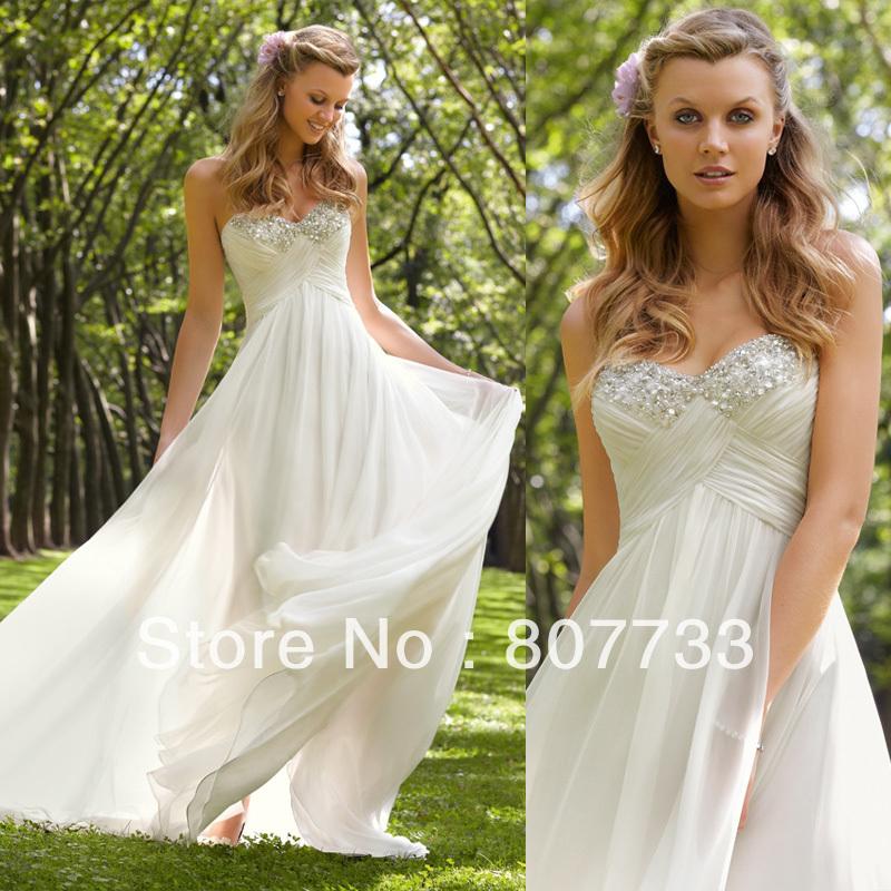 Beach Wedding Reception Dress