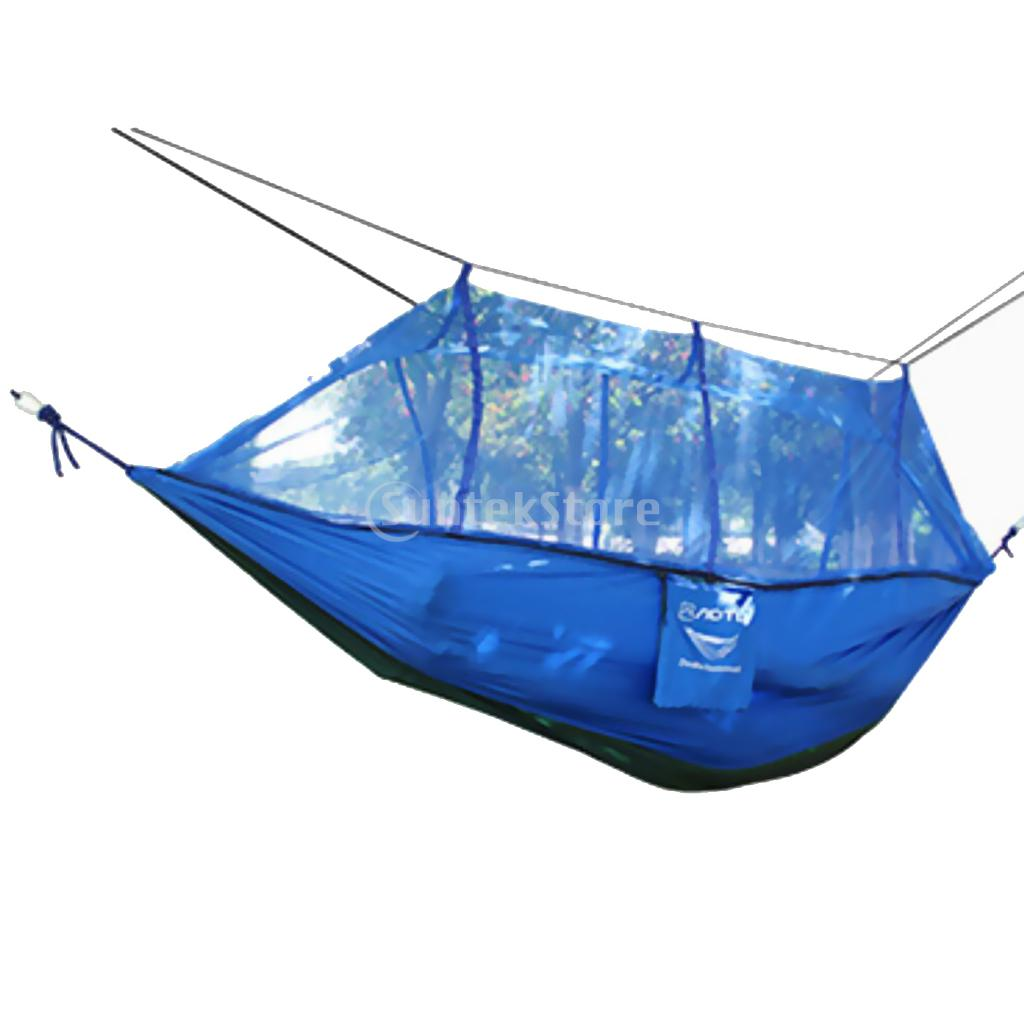 Two Person Parachute Hammock With Mosquito Net 4 Color