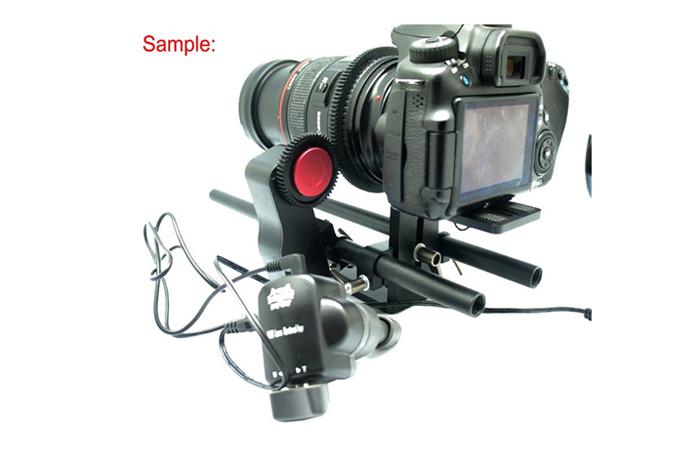 F08646 DSLR Lens Controller Electric Follow Focus Control Video Lens Focal  Length for Baseplate Mount 5D2 60D + US Freeship