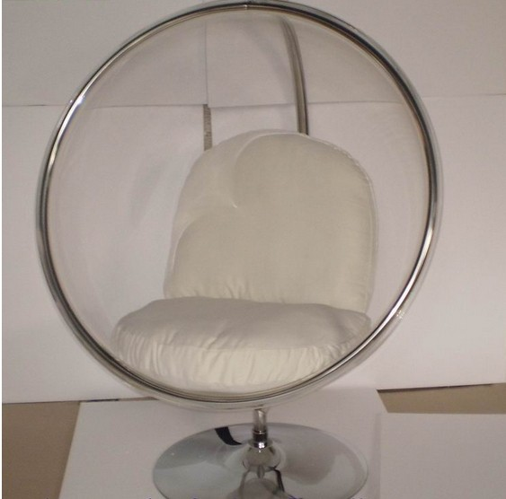 Hangstoel Half Egg.Globe Hanging Chair With Stand Pembley Leather Stool With